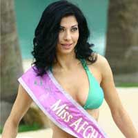 Black Aquini: Vida Samadzai - Miss Afghanistan