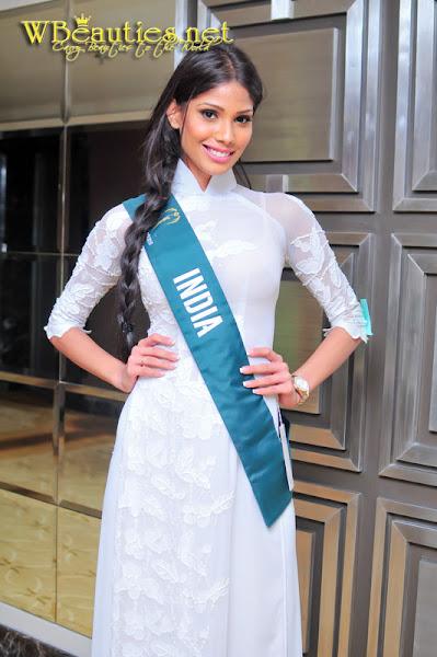 miss earth 2010 ao dai india nicole faria