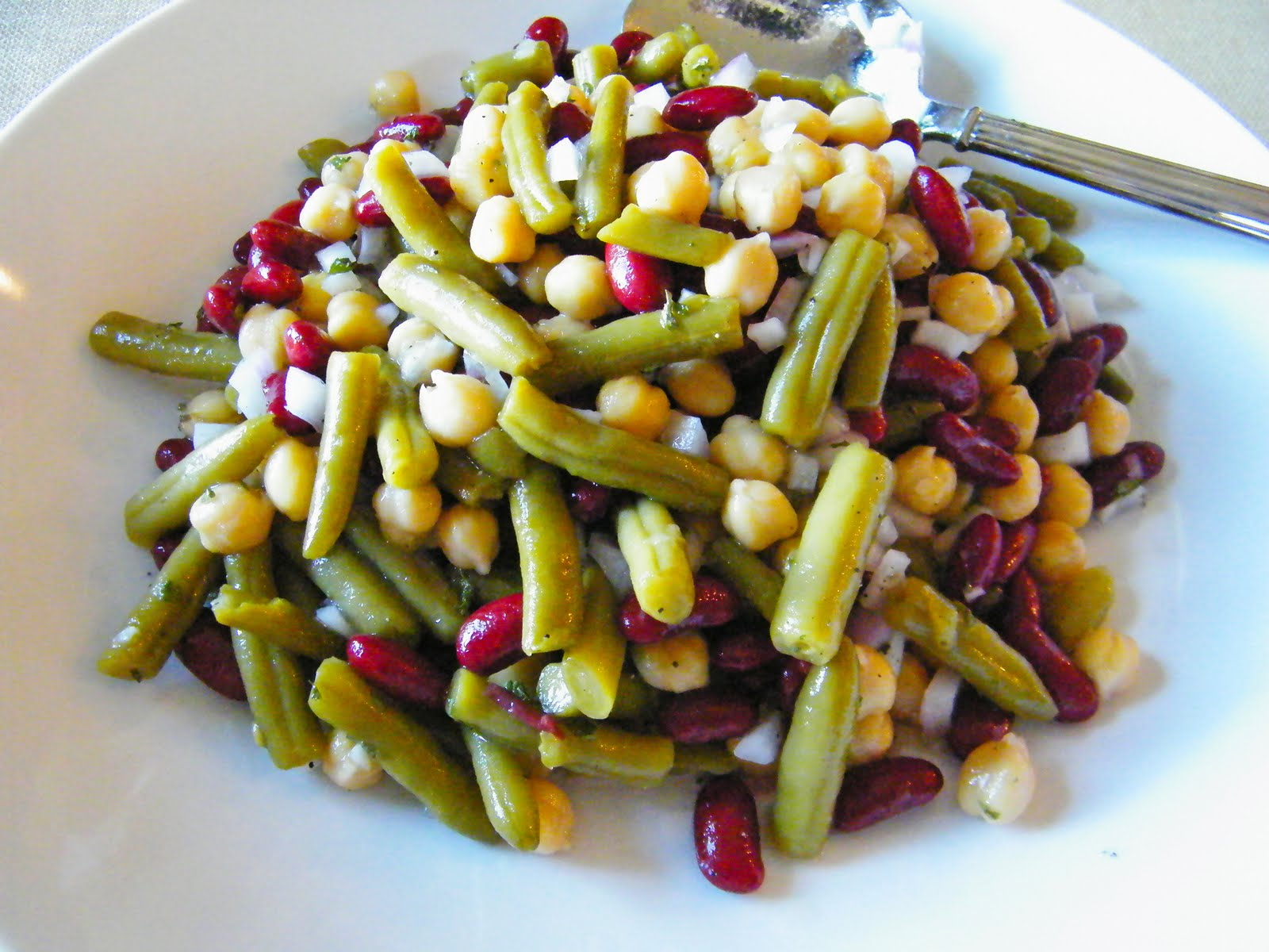 Simply Bella Baby: Three Bean Salad