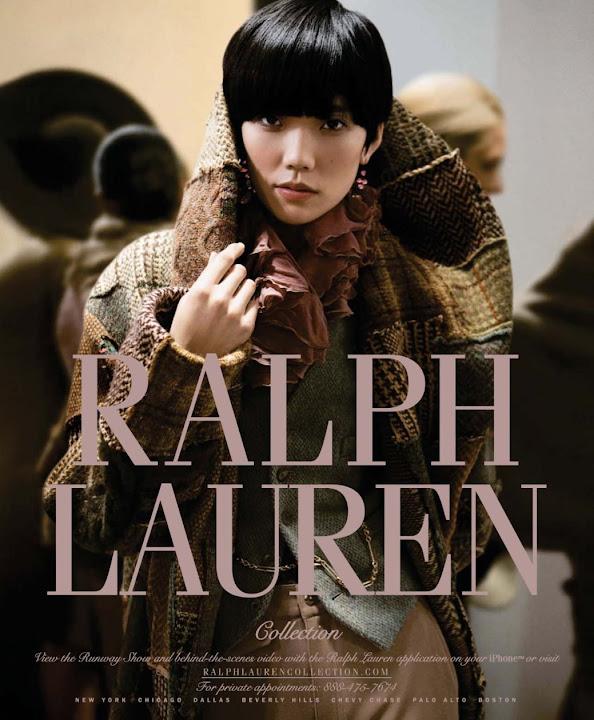 ASIAN MODELS BLOG: Tao Okamoto Ad Campaign for Ralph ...