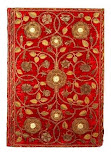 Boldleian Red Velvet Binding