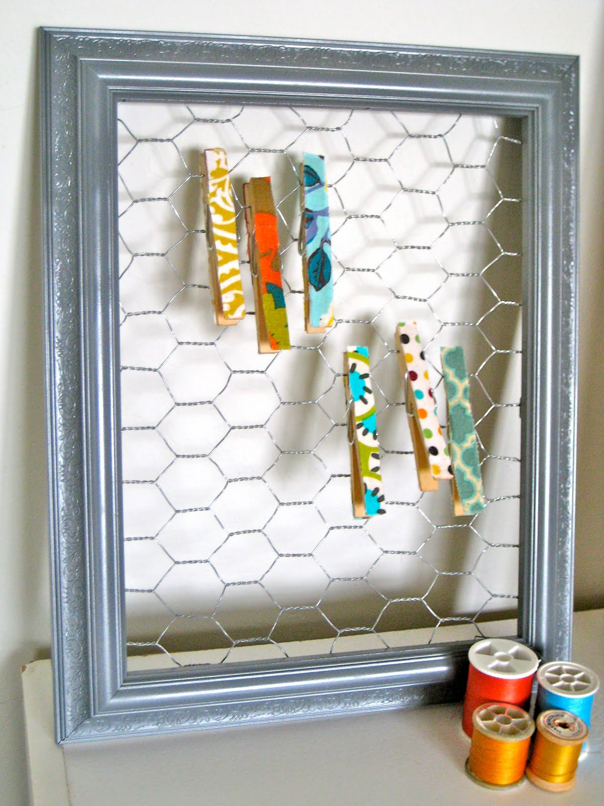 Oh sweet joy diy picture frame earring holder diy picture frame earring holder jeuxipadfo Image collections