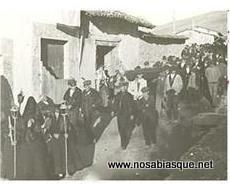 santo entierro en Candelario