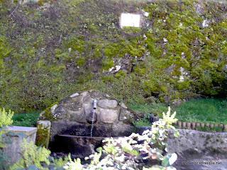 Fuente del Barranco en Candelario Salamanca