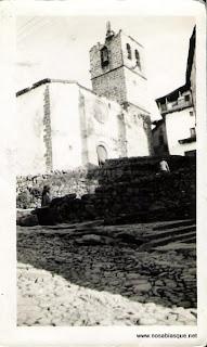 iglesia de Candelario en 1929