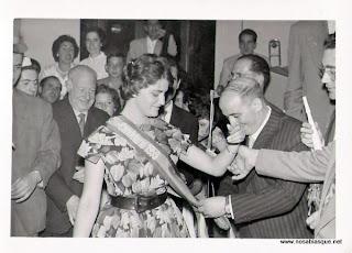 Reina de las fiestas de Candelario de 1959