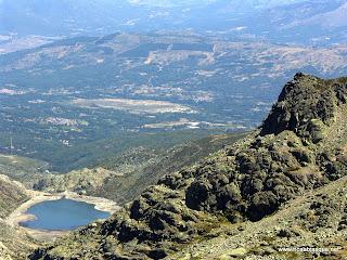 La sierra de Candelario laguna grande