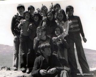 Romería de la Cruz del Herrerito en Candelario Salamanca años 70
