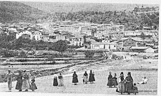 Antigua Vista de Candelario Salamanca