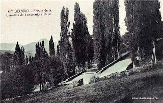 Carretera Candelario a Bejar