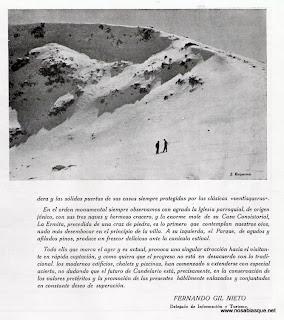 artículo de Fiestas de Candelario Salamanca 1969