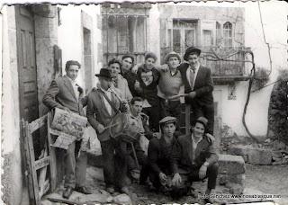 Quintos de 1962 en Candelario Salamanca