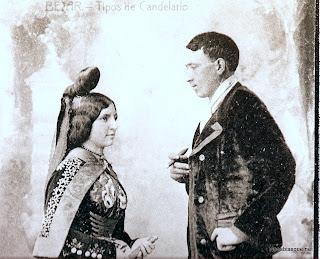 Candelario, pareja de Candelaria y choricero,Tipos de Candelario Salamanca