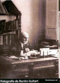 Benito Guitart arquitecto del Ayuntamiento de Candelario