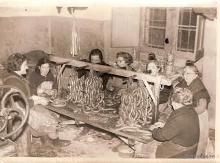 Candelario Salamanca candelarias trabajando en la casa chacinera