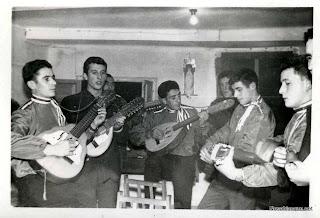 Rondalla de Candelario Salamanca en 1964