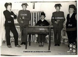 Comedia en Candelario Salamanca años 60