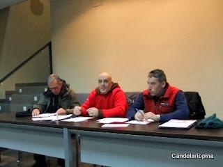 presentación del Grupo de Montaña Candelariense en Candelario Salamanca