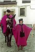 Candelario Salamanca un quinto del 82 con el burro y el muñeco