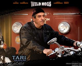 Tariceanu pe motocicleta