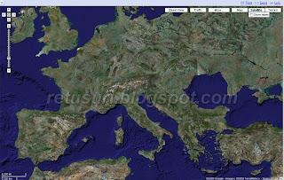 Google Maps fără România