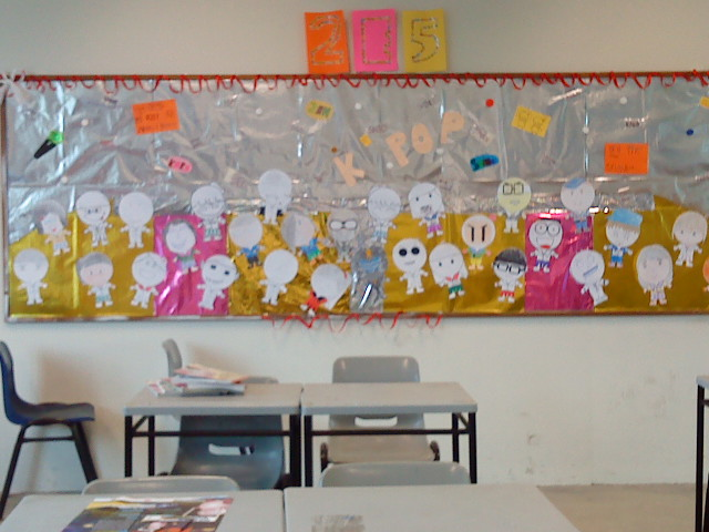 Loads of time effort and teamwork put in to finish it up for 9th class decoration