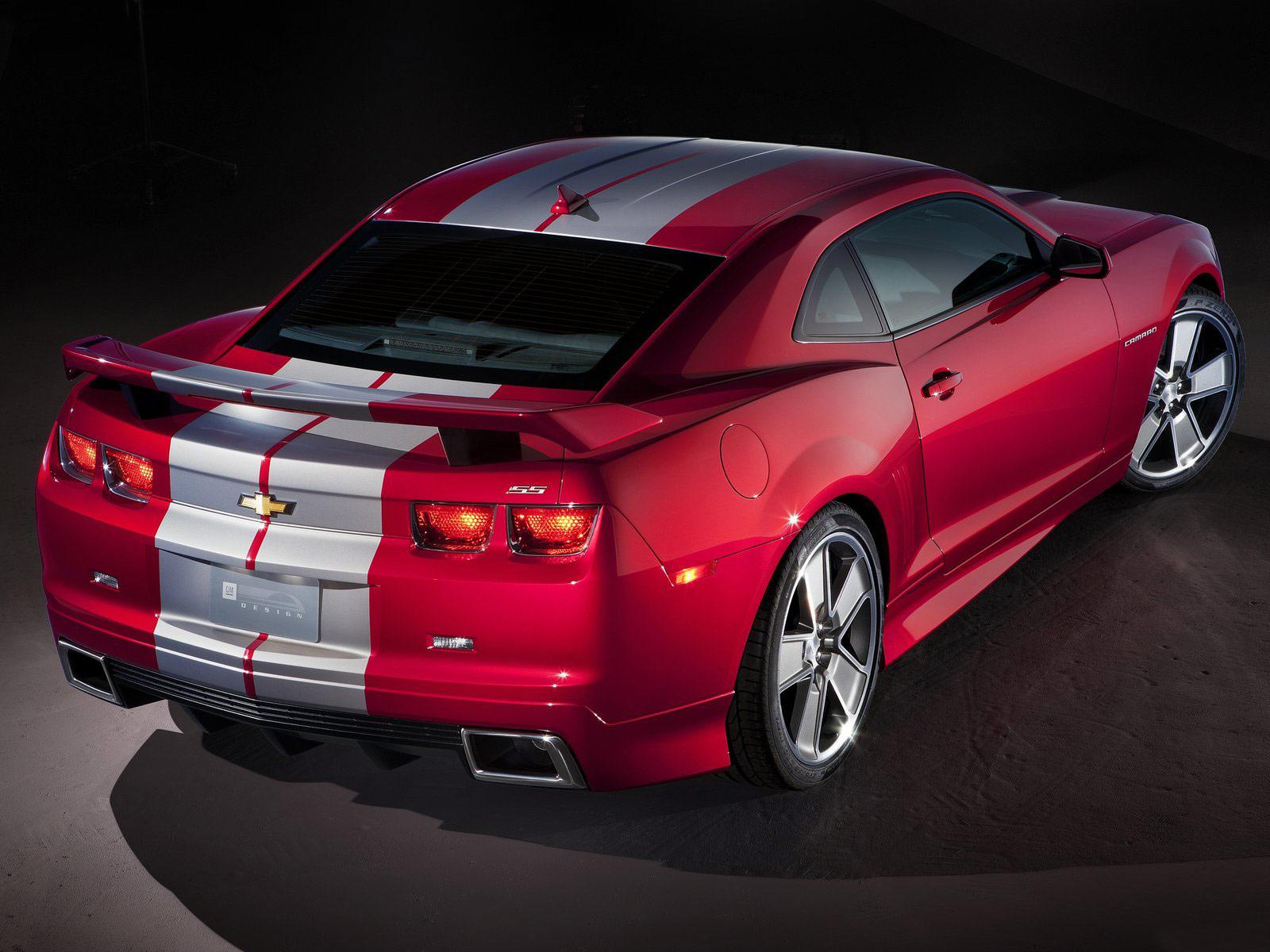 2010 Chevrolet Camaro Red Flash Concept Cars
