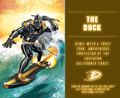 The Duck NHL Stan Lee's The Guardians