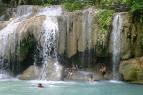 Erawan Waterfaff, Kanchanaburi Thailand