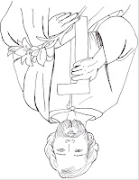 was scan him upside down st joseph coloring page