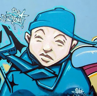 Design Graffiti: funky boy - graffiti character