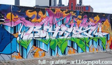 Graffiti Wall Design. awsome design wall graffiti