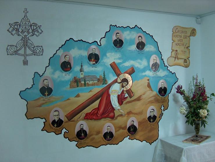 Interior Biserica, Romania Mare