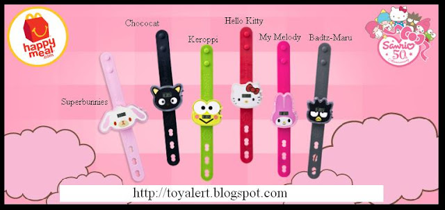 Hello Kitty Barbie 2 · Hello Kitty Watches from McDonald's 2009