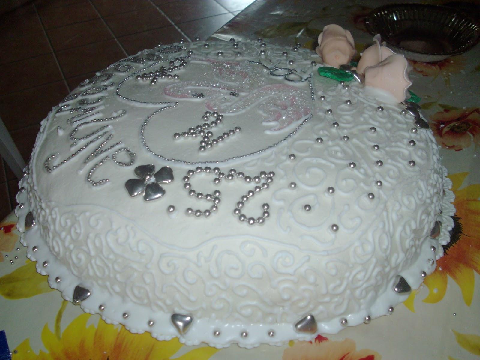 La cucina di mamma piera torta 25 anniversario for 25esimo anniversario