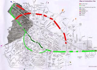 Jalandhar Map | Jalandhar City Map