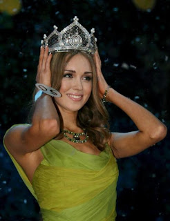 Ksenia Sukhinova is Miss Russia World 2008