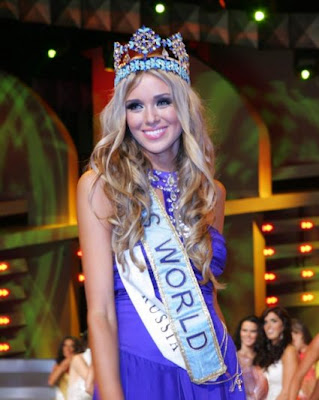 Ksenia Sukhinova is the Miss World 2008