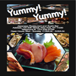 Use InDesign to create a virtual menu for japanese restaurant
