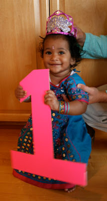 A princess born of india happy first birthday for Annaprasana decoration