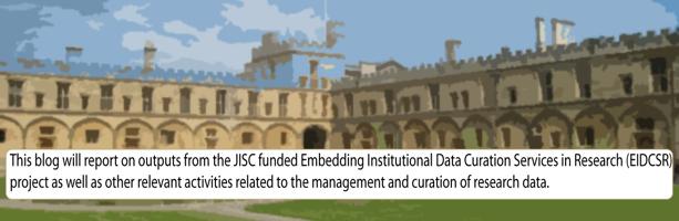 JISC EIDCSR Blog