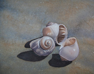 Seashell Painting - Art Walk Opening Reception in Port Moody