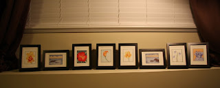 Group of Miniature Watercolor Paintings
