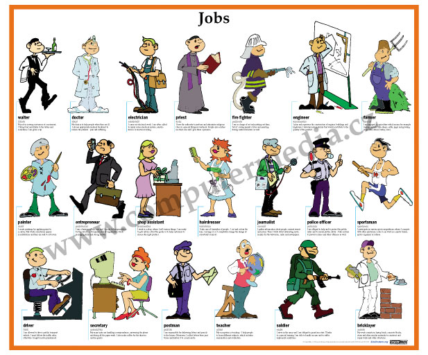 different kinds of work people do 6 job personality and work environment types  effectively creating 720 different job personality  i do see people that follow their passions tend to find.