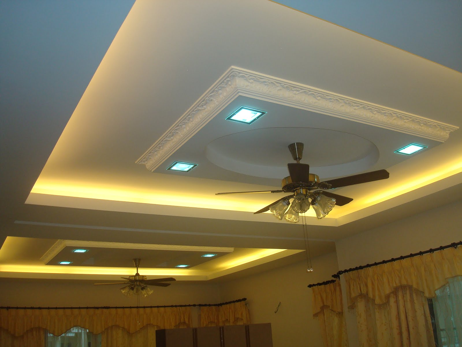 Plaster Ceiling Design For Condominium Hana Amp Construction