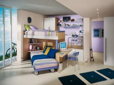Childrens Bedroom on Interior Home And Design  Contemporary Children S Bedrooms