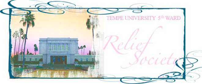 Tempe University 5th Ward Relief Society