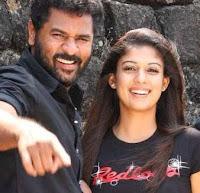 nayanthara and prabhu deva