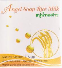 Angle White Rice Milk สบู่น้ำนมข้าว