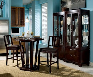 Round Counter Height Dining Room Furniture Set By Fairmont Designs